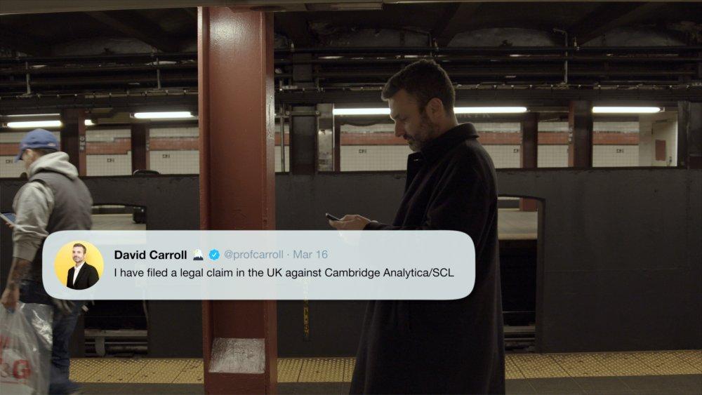 Professor David Carroll in The Great Hack