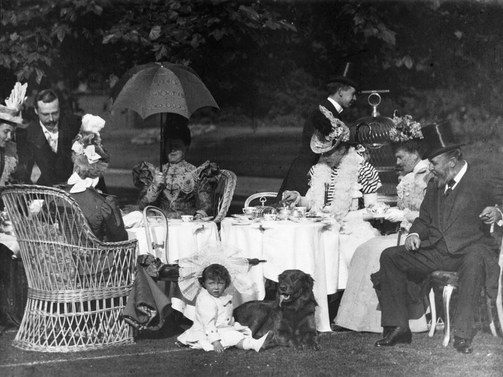 Afternoon Tea at Clarence House (1897), in The Great Victorian Moving Picture Show (2018)