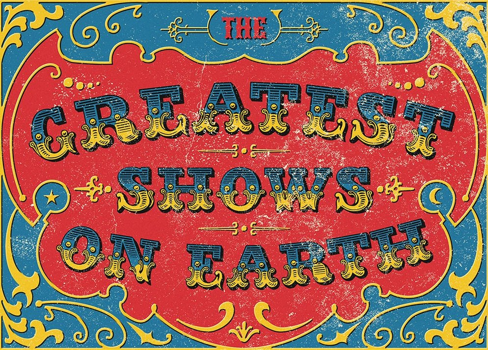 The Greatest Shows on Earth: A Century of Funfairs, Circuses and Carnivals (2015)