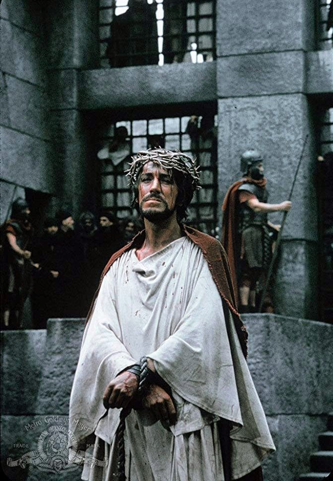 Max von Sydow as Jesus Christ in The Greatest Story Ever Told (1965)