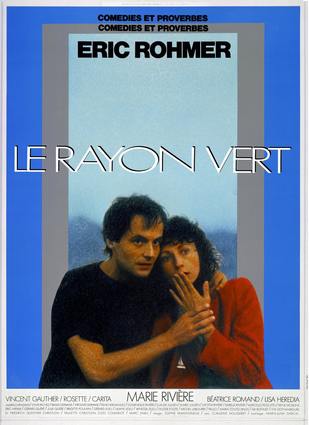 The Green Ray (1986) poster