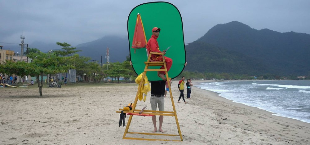 Douwe Dijkstra's Green Screen Gringo, winner of Clermont-Ferrand's experimental Labo Grand Prize