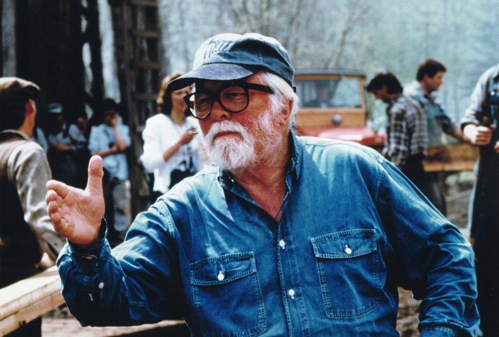 Richard Attenborough directing Grey Owl (1999)