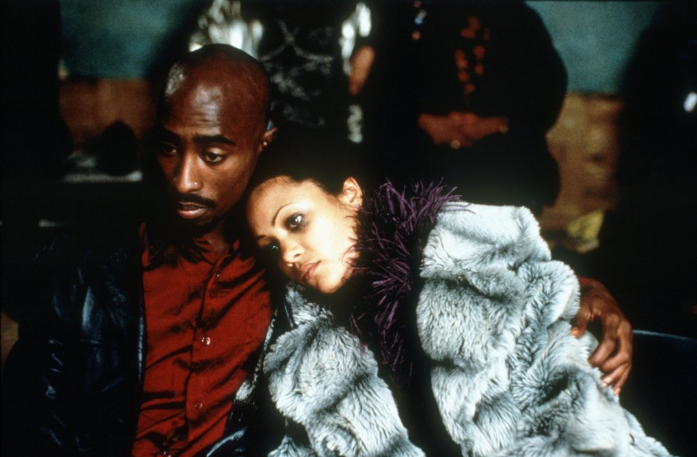 Tupac Shakur with Thandie Newton in Gridlock'd (1997)