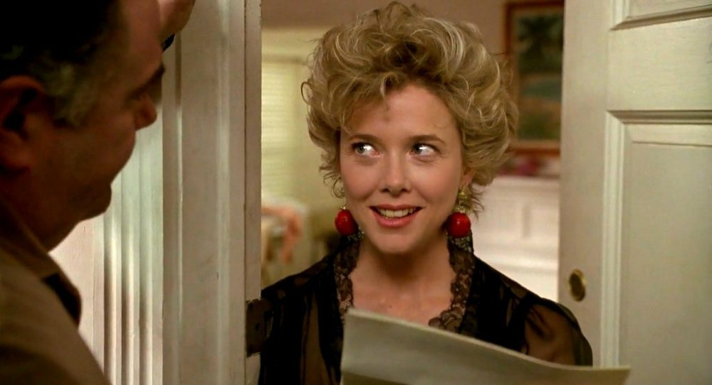 Bening as Myra Langtry in The Grifters (1990)