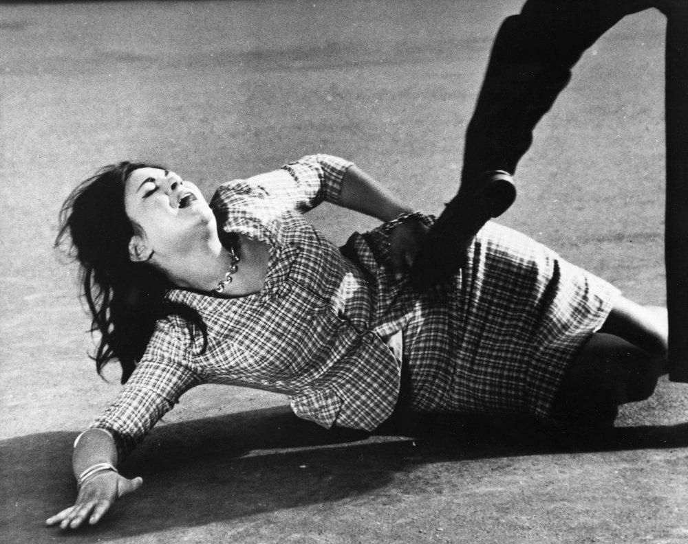 Gabriella Giorgelli as Esperia in The Grim Reaper (La commare secca, 1962)