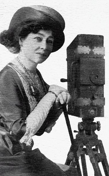 Early French cinema pioneer Alice Guy-Blaché, who directed hundreds of films between 1896 and 1920