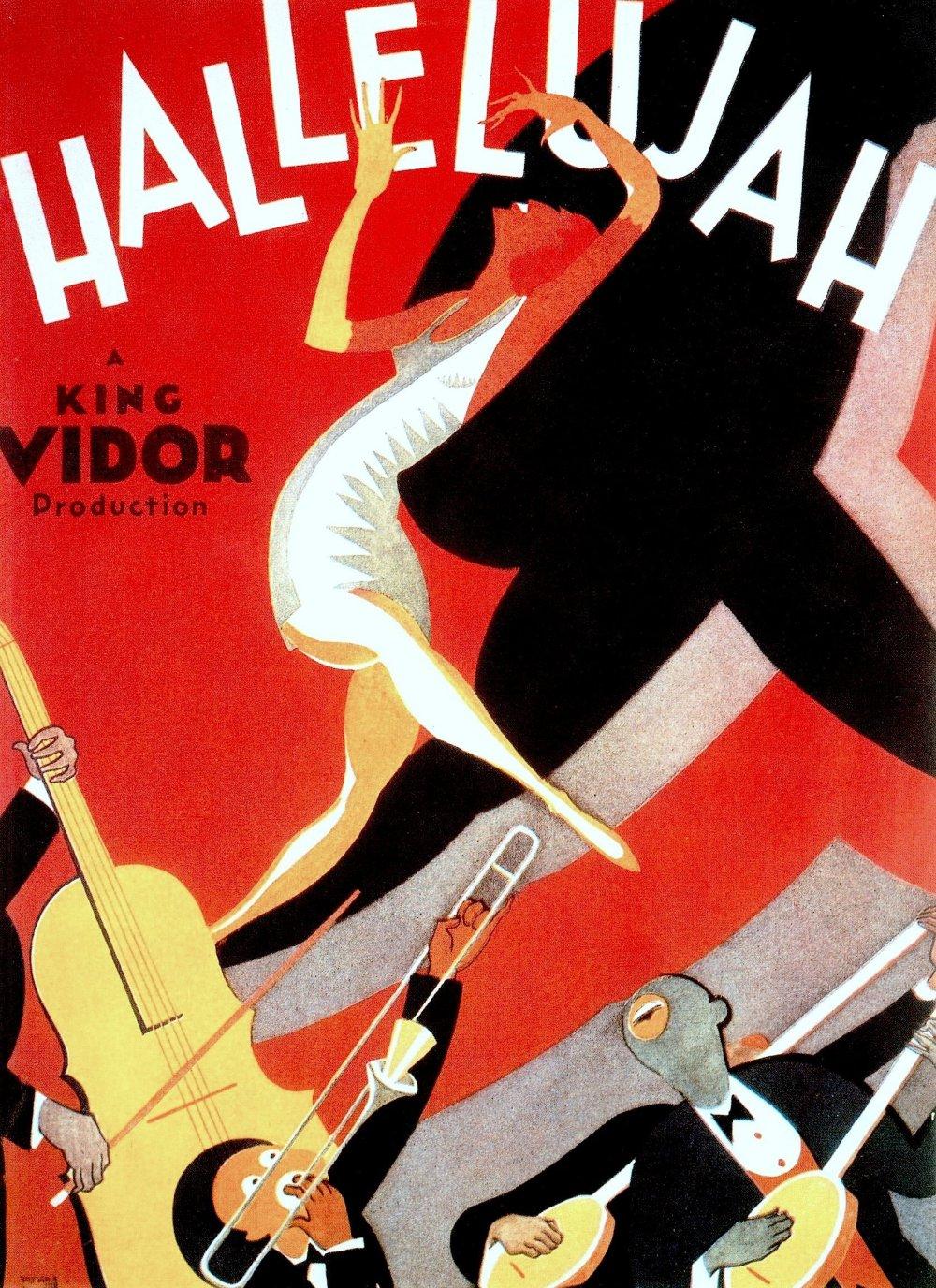 Hallelujah (1929) film poster