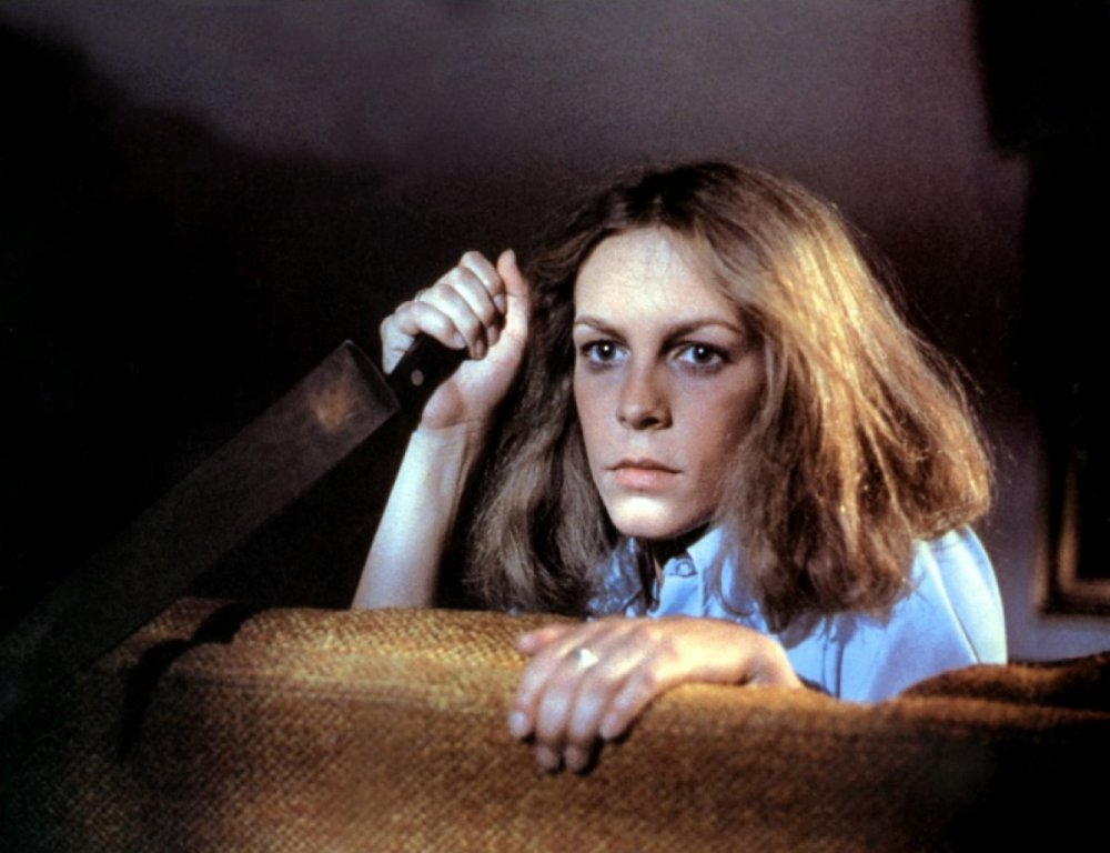 Jamie Lee Curtis in John Carpenter's Halloween (1978)