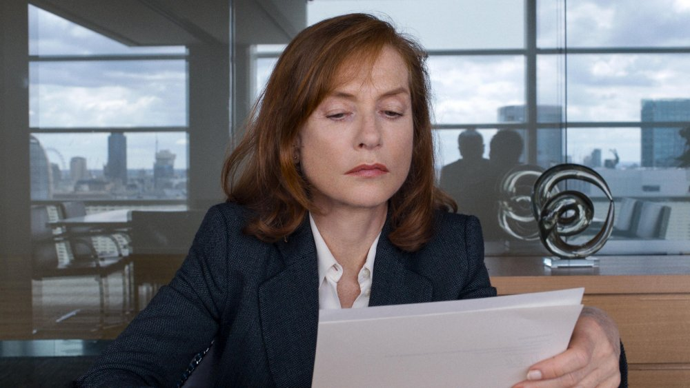 Isabelle Huppert as Anne Laurent in Michael Haneke's Happy End