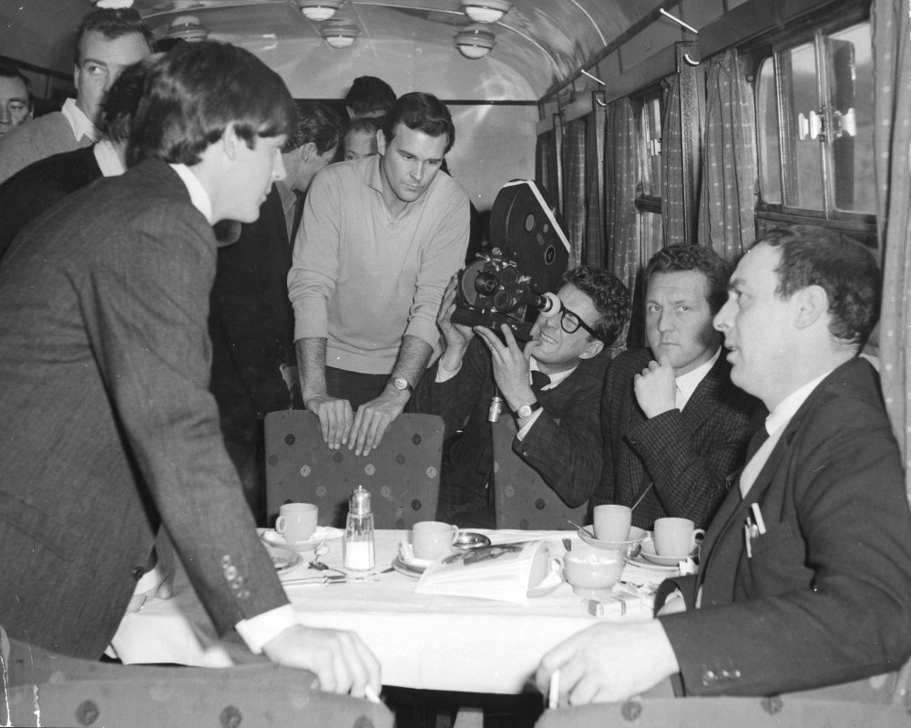 Lester was keen to use authentic locations as much as possible. He chartered a real train for the scenes in which the Beatles travel to London by rail. The train travelled back and forth from Paddington for several days, with the Beatles being dropped off outside of London at the end of the day, to escape the attention of their ever-present fans