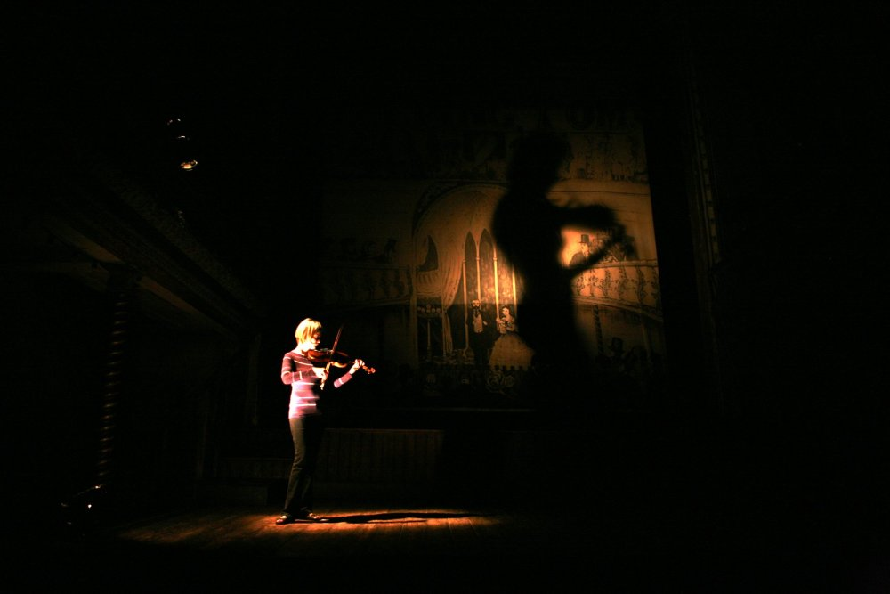 Alina Ibragimova at Wilton's Music Hall