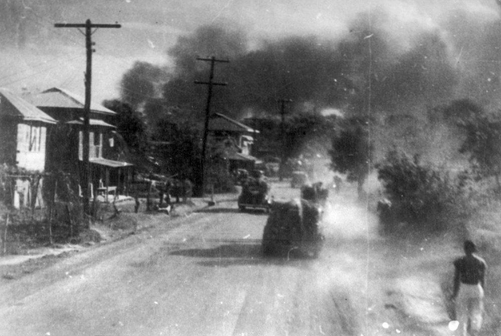 Hawai-mare-oki kaisen (The War at Sea from Hawaii to Malay, 1942): cinematography by Akira Mimura