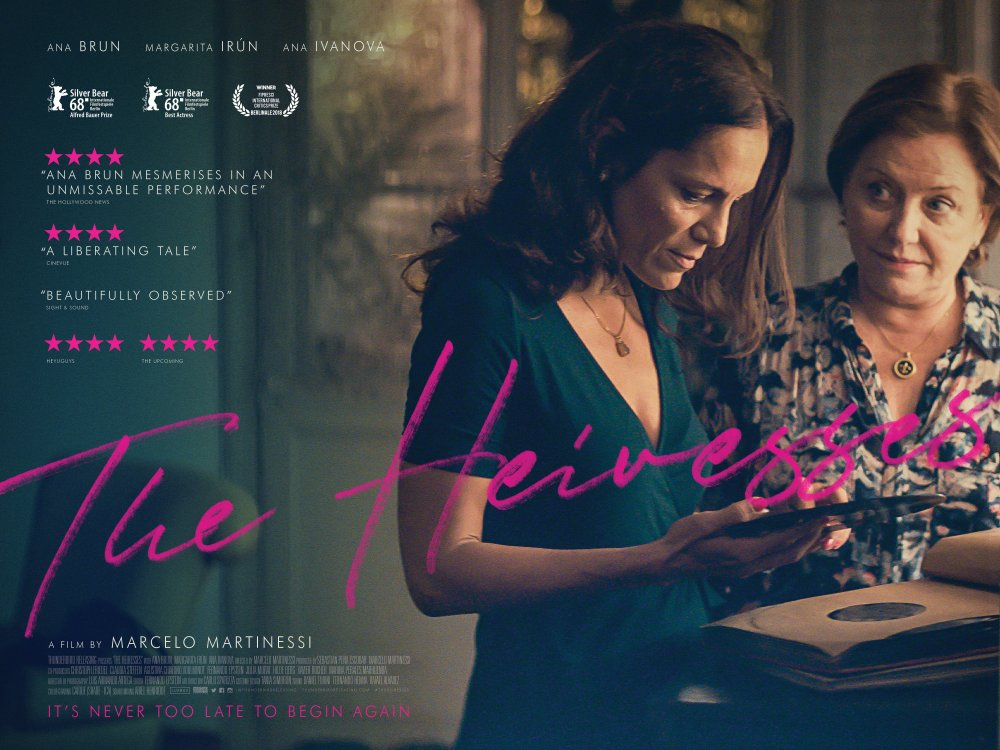 <strong>The Heiresses </strong>– Introverted Chela discovers it's never too late in life to begin something new in this exquisite exploration of the older lesbian experience