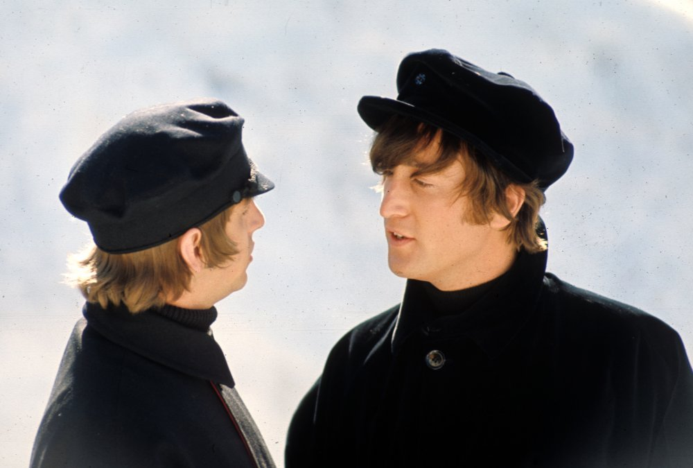 Ringo and John in the Alps
