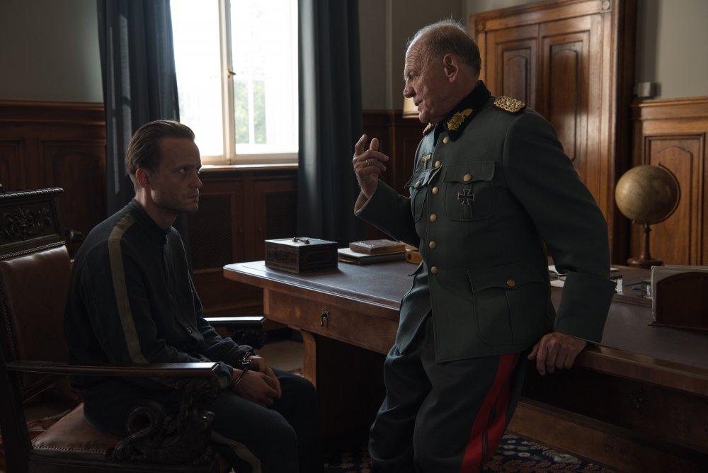 Jägerstätter with Bruno Ganz as Judge Lueben