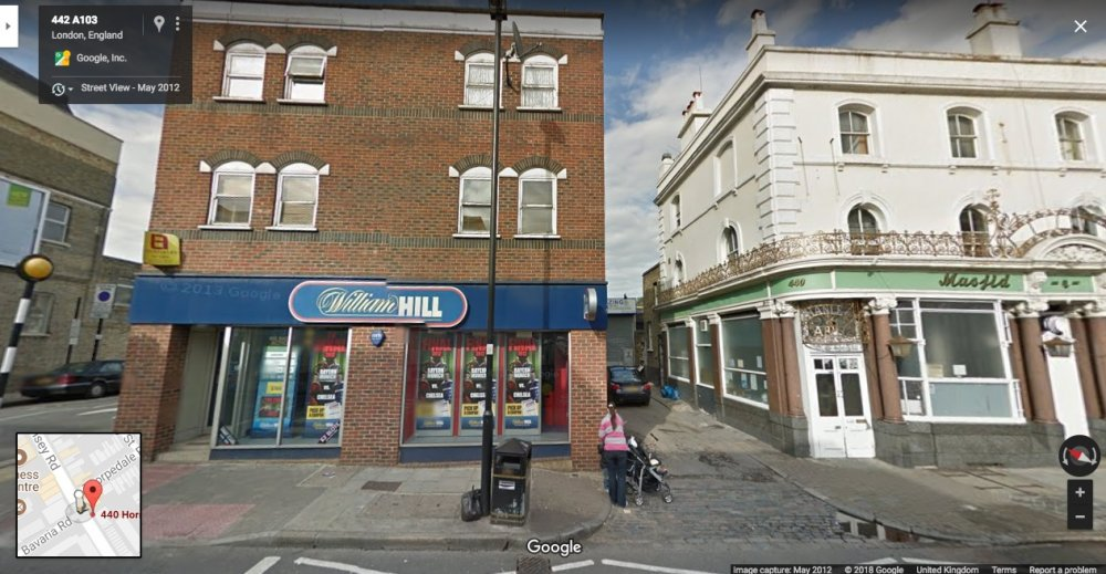 High Hopes (1988) location today in street view