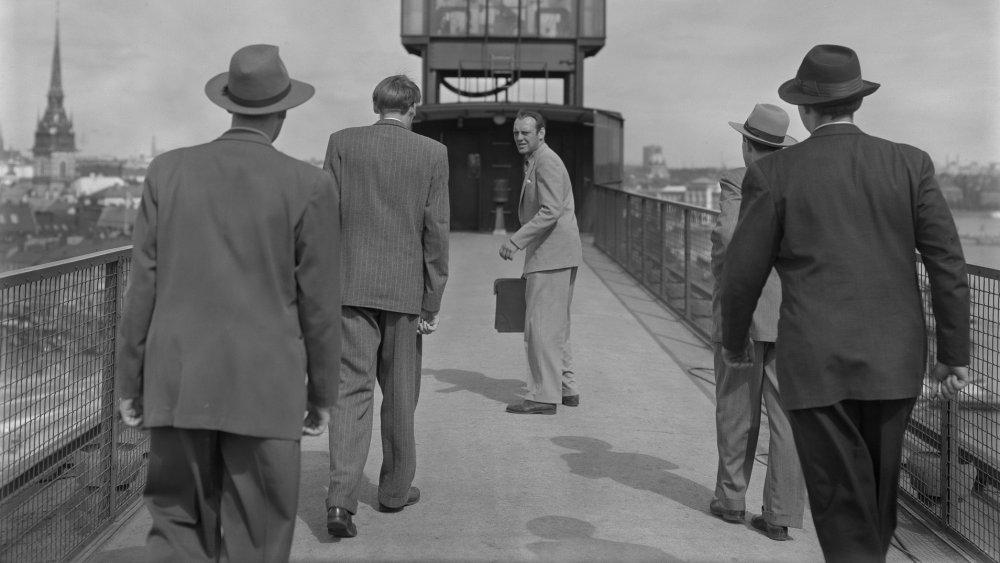 Ingmar Bergman's restricted spy thriller High Tension (1950)