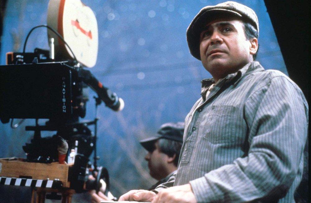 Danny DeVito on the set of Hoffa (1992)