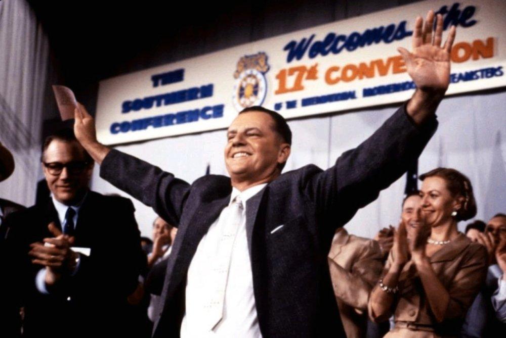 Jack Nicholson as Jimmy Hoffa in Hoffa (1992)