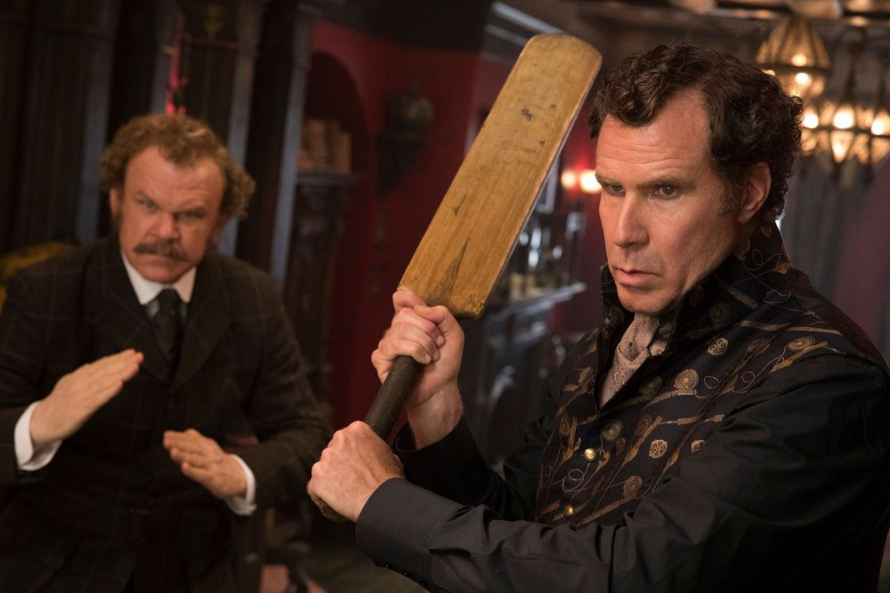 Will Ferrell as Holmes and John C. Reilly as Watson in Holmes and Watson