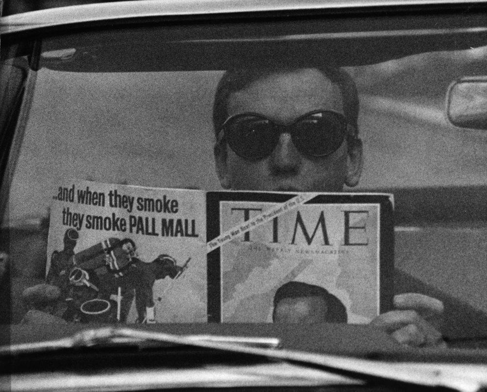 Jean-Louis Duroc (Jean-Louis Trintignant) in Un homme et une femme (1966)