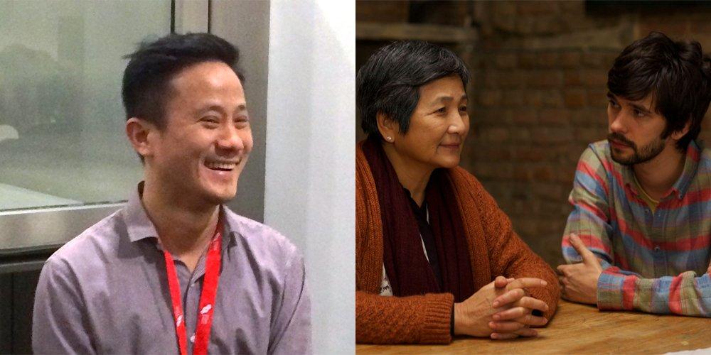 Hong Khaou (left), director of Lilting (right)