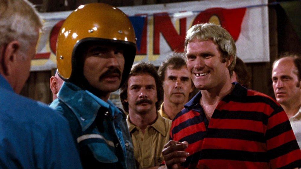 As Sonny Hooper in Hooper (aka Double Jeopardy, 1978)