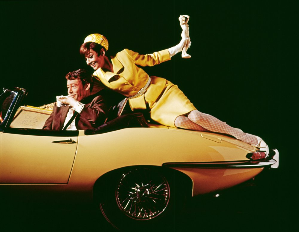 A publicity still for the 1966 caper comedy How to Steal a Million, starring O'Toole and Audrey Hepburn