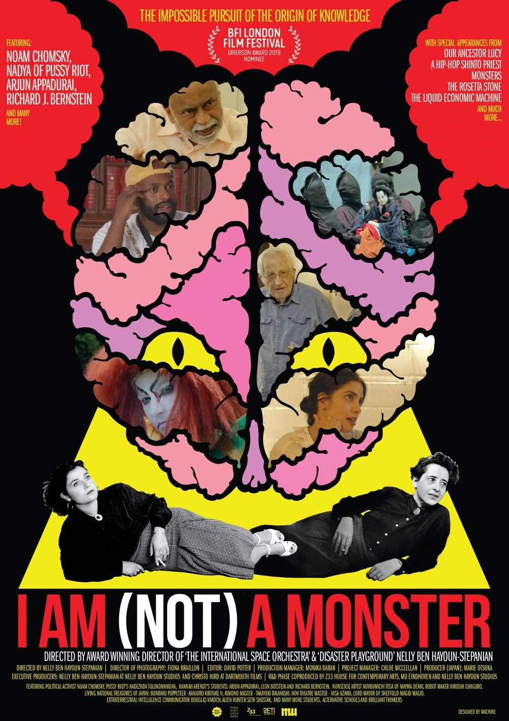 <strong>I Am (Not) a Monster</strong>  In this thought-provoking and playful documentary, ebullient director Nelly Ben Hayoun-Stépanian (Disaster Playground) takes you on a journey to find the origins of knowledge