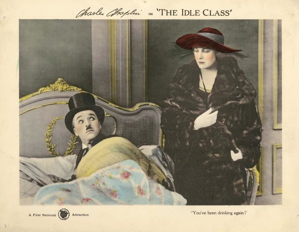 The Idle Class (1921)