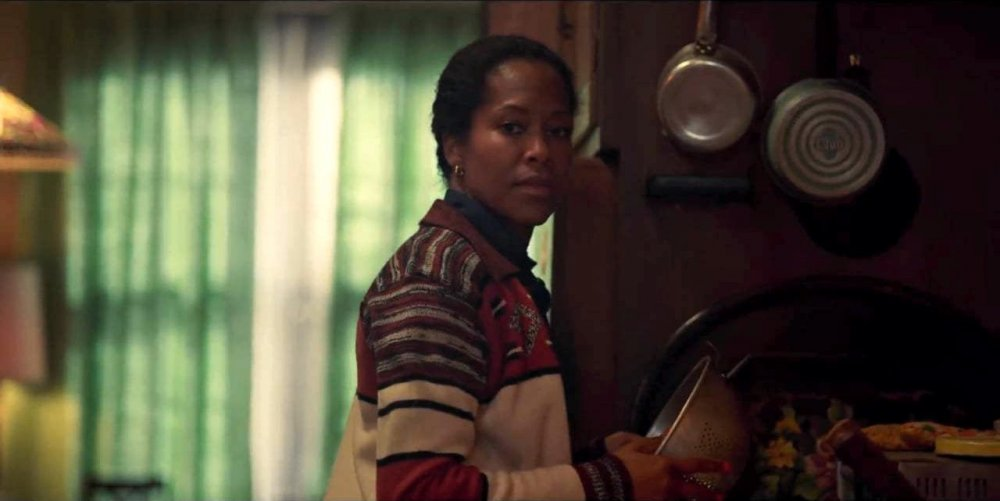 Regina King as Sharon Rivers in If Beale Street Could Talk.