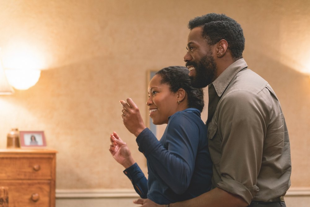 Colman Domingo as Joseph Rivers and Teyonah Parris as Ernestine Rivers