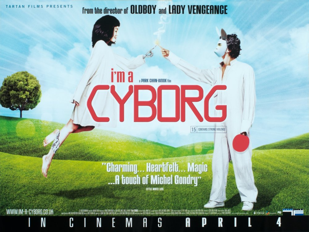 I'm a Cyborg but That's OK (2006) poster