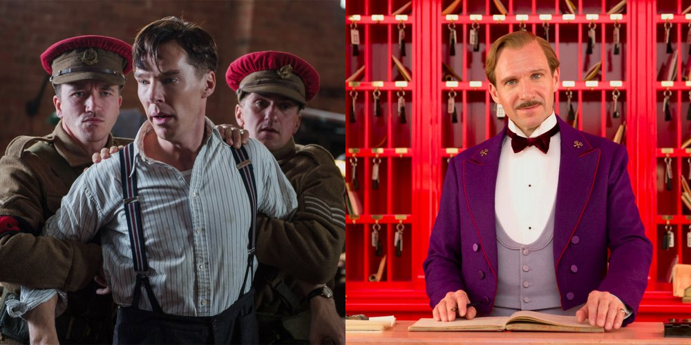 The Imitation Game (2014) and The Grand Budapest Hotel (2013)