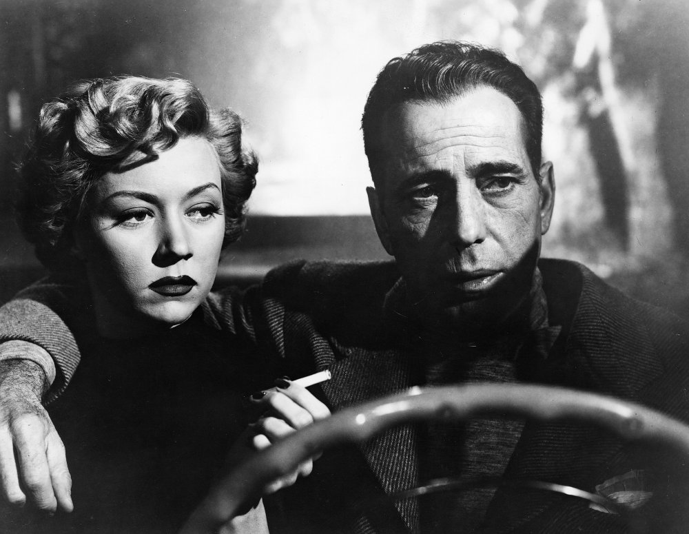 Gloria Grahame and Bogart in Nicholas Ray's In a Lonely Place (1950)