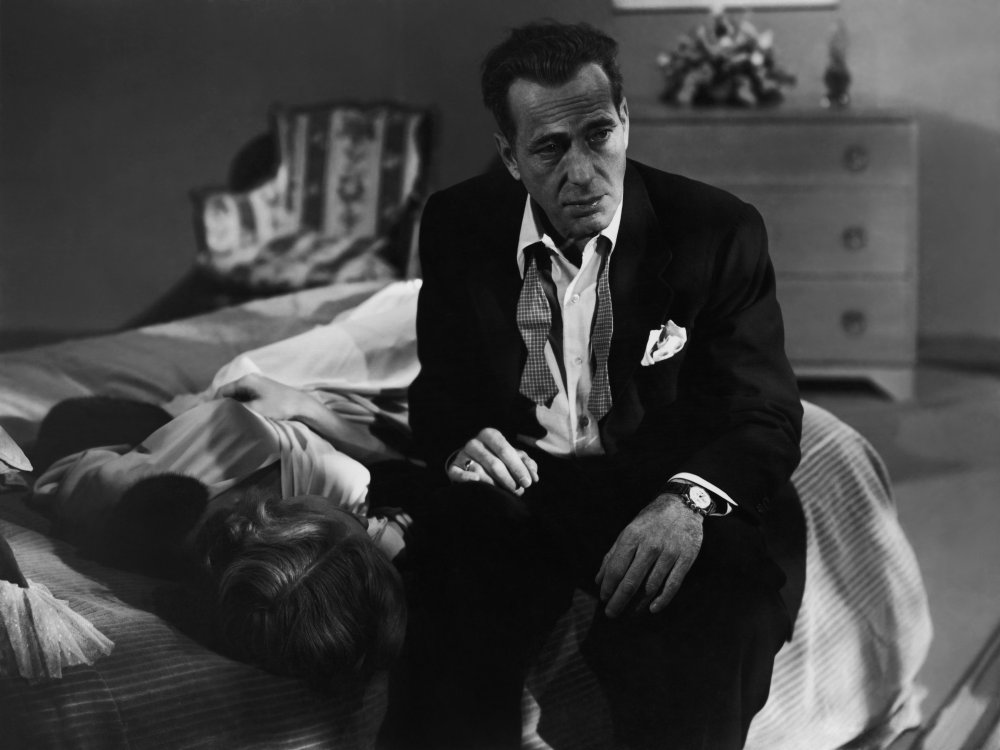 Humphrey Bogart as Dix Steele in In a Lonely Place (1950)