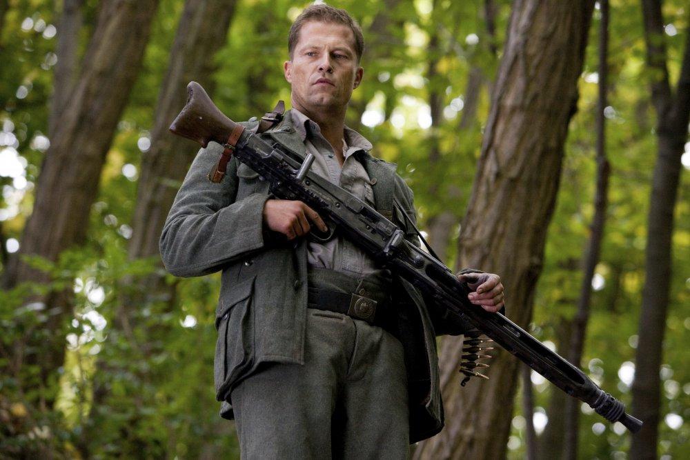 Til Schweiger as Sgt. Hugo Stiglitz in Inglourious Basterds (2009)