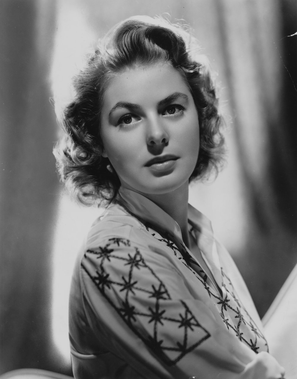 Ingrid Bergman old