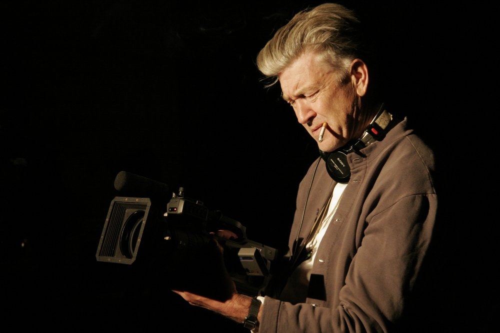 David Lynch directing INLAND EMPIRE (2006)