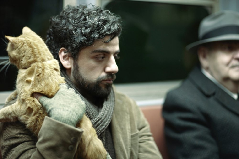 No ambition, no get-up-and-go, no vim: Oscar Isaac as blue troubador Llewyn Davis.