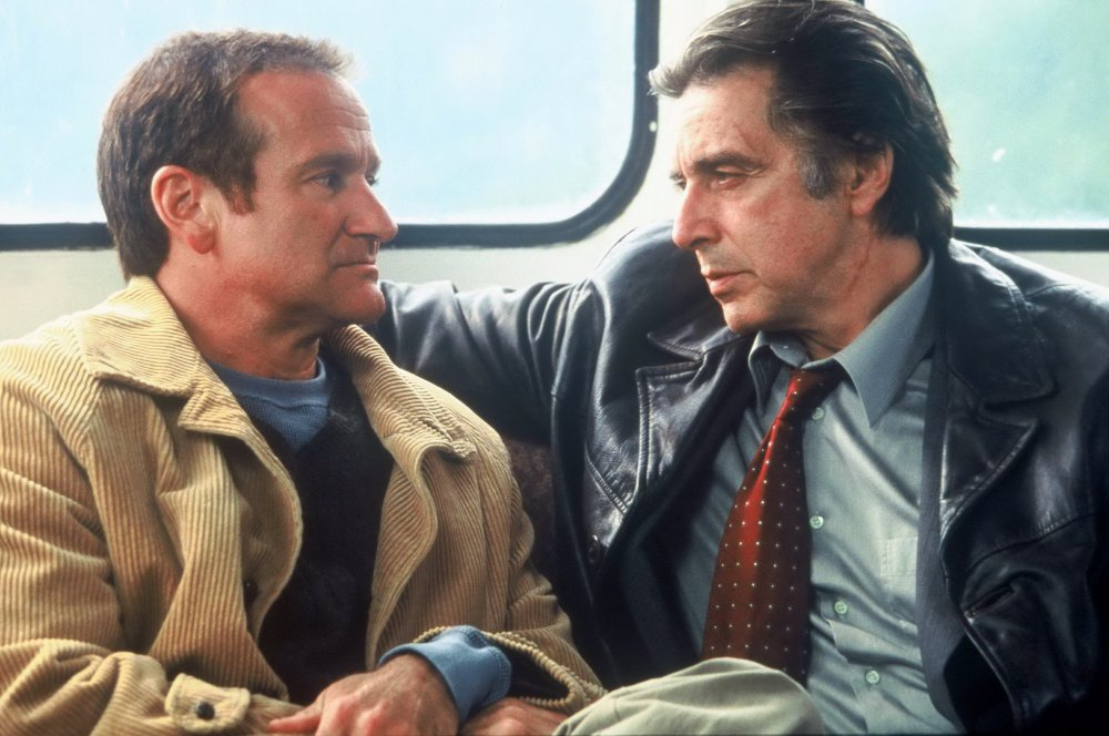Another heavyweight co-billing: this time, Williams went head-to-head with Al Pacino in the icy wildernesses of Alaska for Christopher Nolan's crime drama Insomnia (2002)