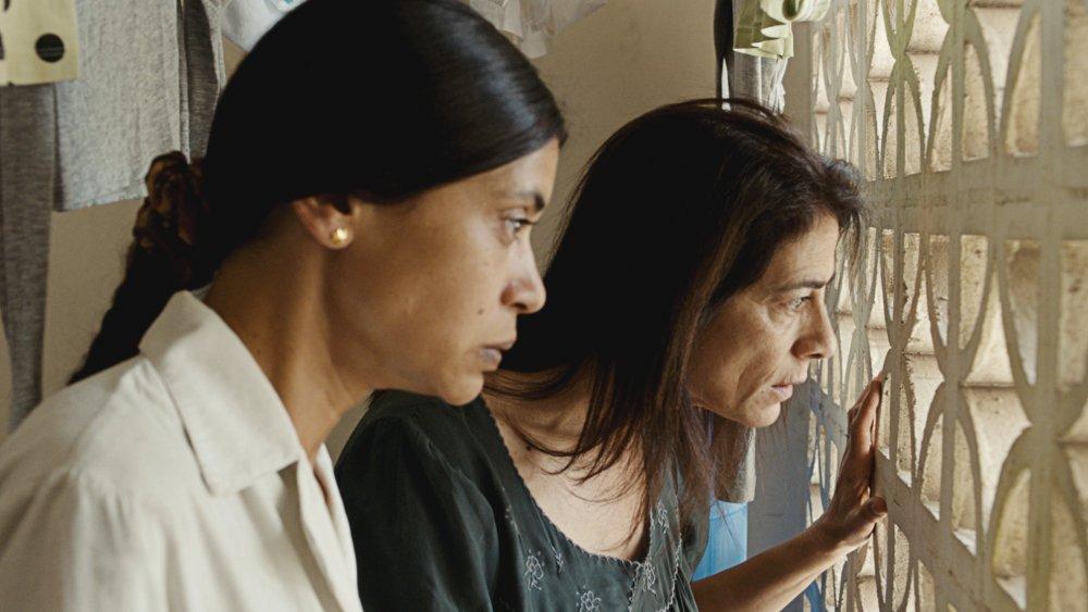 Juliette Navis as Delhani with Hiam Abbas