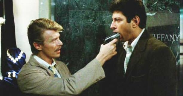 A small role as a hitman in John Landis's Into the Night (1985)