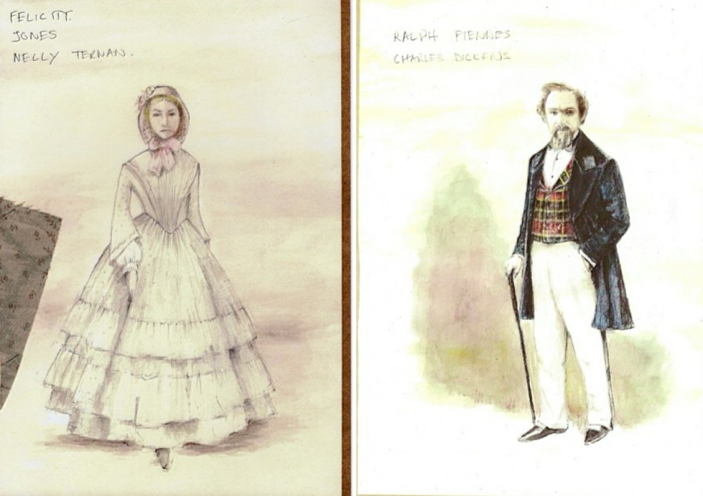 A grey dress for Nelly and Dickens's frock coat