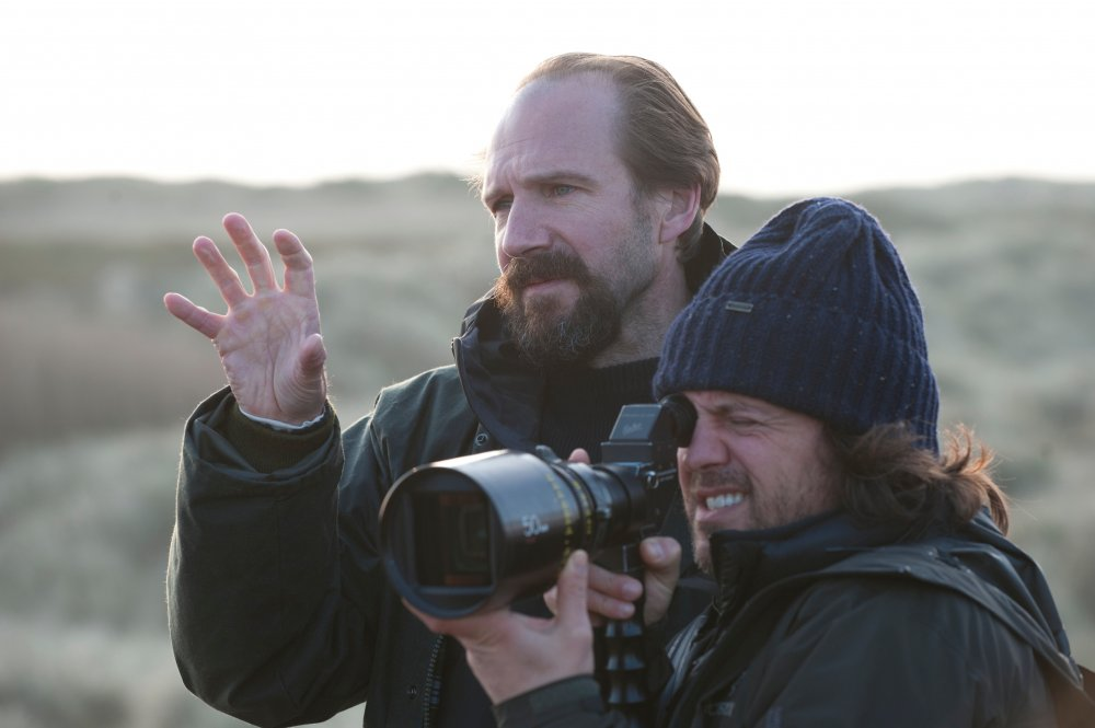 Ralph Fiennes filming The Invisible Woman (2013)