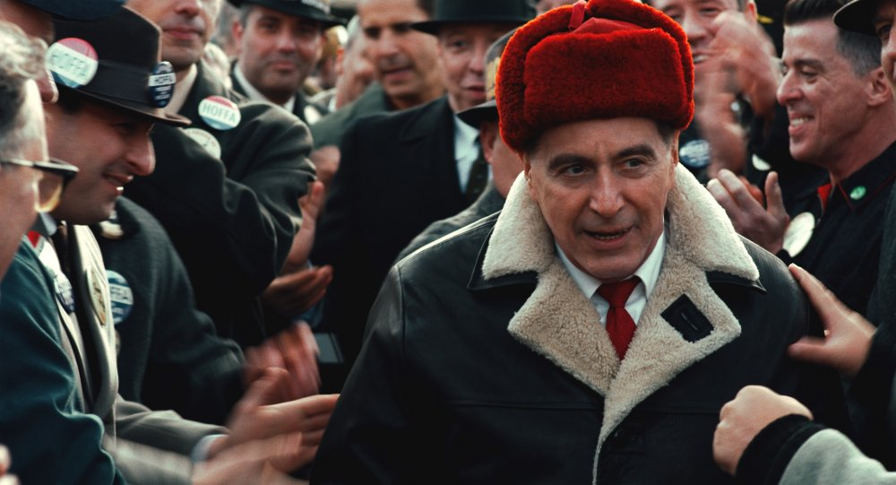 Al Pacino as Jimmy Hoffa