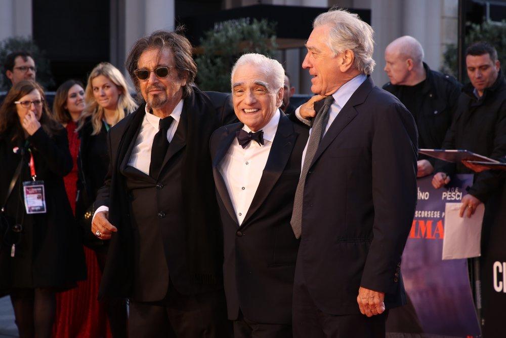 Al Pacino, Martin Scorsese and Robert De Niro attend the Closing Night gala premiere of The Irishman (2019)