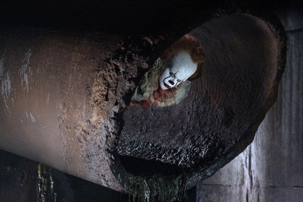Stephen King's terrorist clown Pennywise returns in his latest embodiment, by actor Bill Skarsgård
