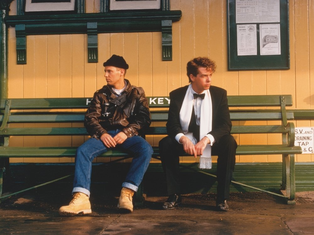 Chris Lowe and Neil Tennant in It Couldn't Happen Here